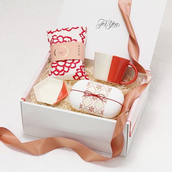 結婚内祝い Especially Box/唐紅 からくれない 2カラー[ヒャッカ] 7