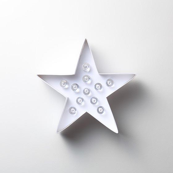 デコレーションアイテム マーキーライト / 星 9
