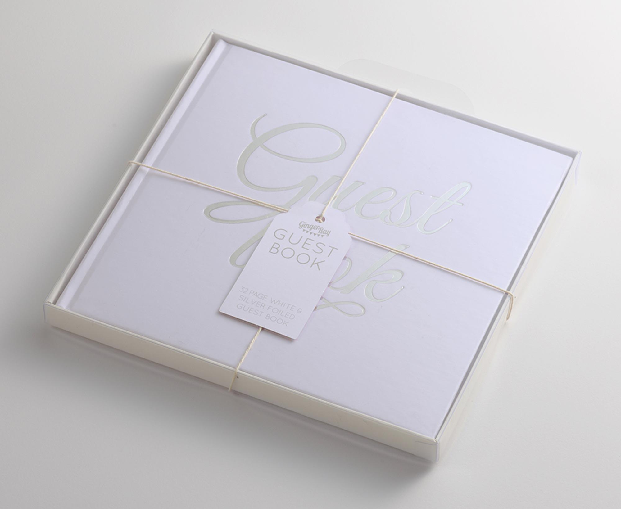 ゲストブック/White&Silver[ジンジャーレイ] 1