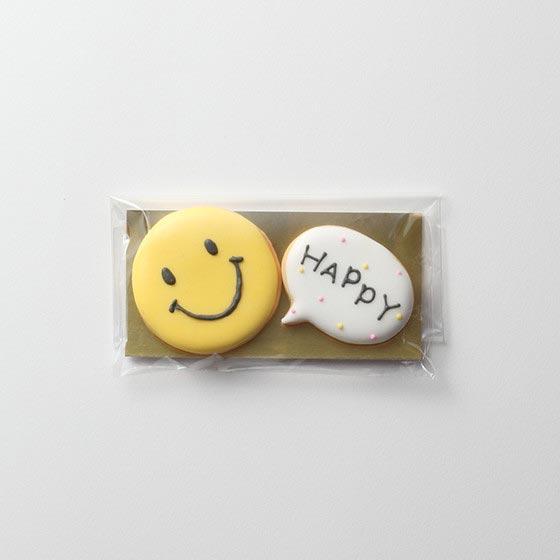 アイシングクッキー/ハッピーニコマーク[ヒャッカ] 2
