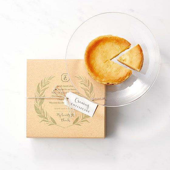 カタログギフト/やさしいきもち/ふんわり+チーズケーキ+紅茶 5