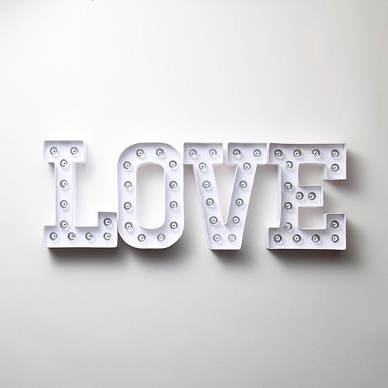 デコレーションアイテム マーキーライト / LOVE 11