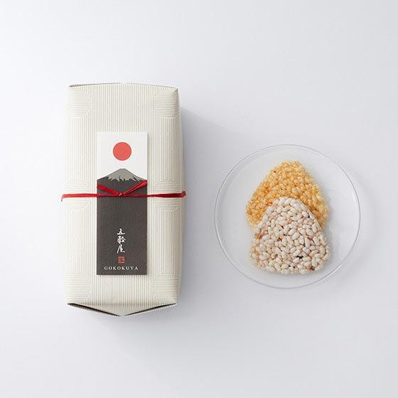 引き菓子 五穀せんべい/山むすび/富士山2種 10枚入[五穀屋] 27