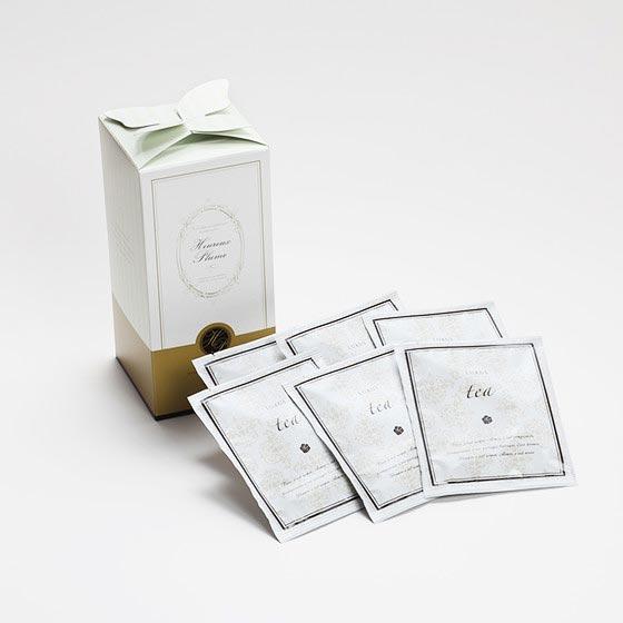 引き出物 幸せの羽根/紅茶セット 4