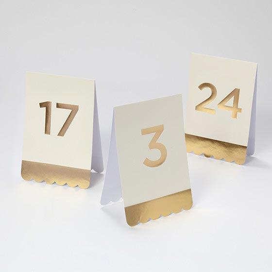 デコレーションアイテム テーブルナンバー/Fancy[マイマインズアイ] 16