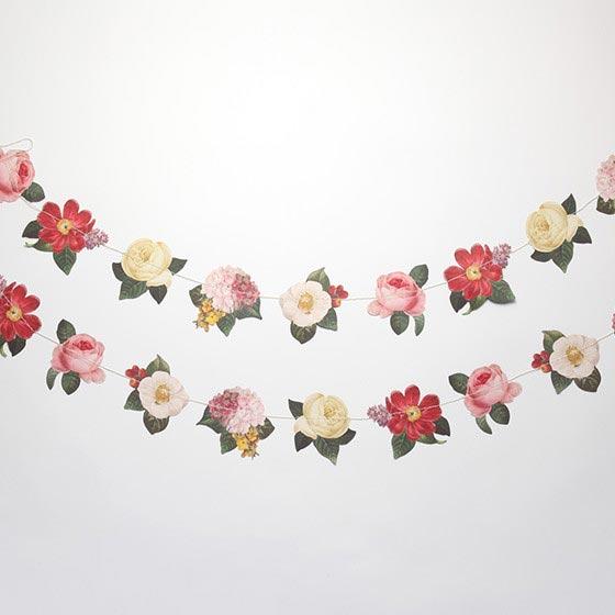 デコレーションアイテム ガーランド/Botanical/Floral[マイマインズアイ] 23