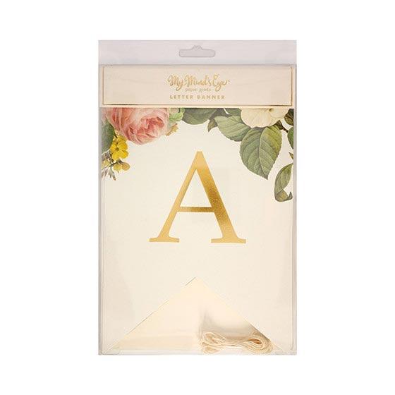 ガーランド/Botanical/アルファベット[マイマインズアイ]  5
