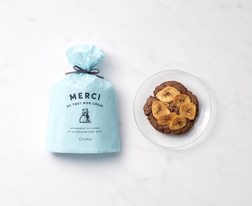 MERCI cookie/チョコ&バナナ[オナカ] 1