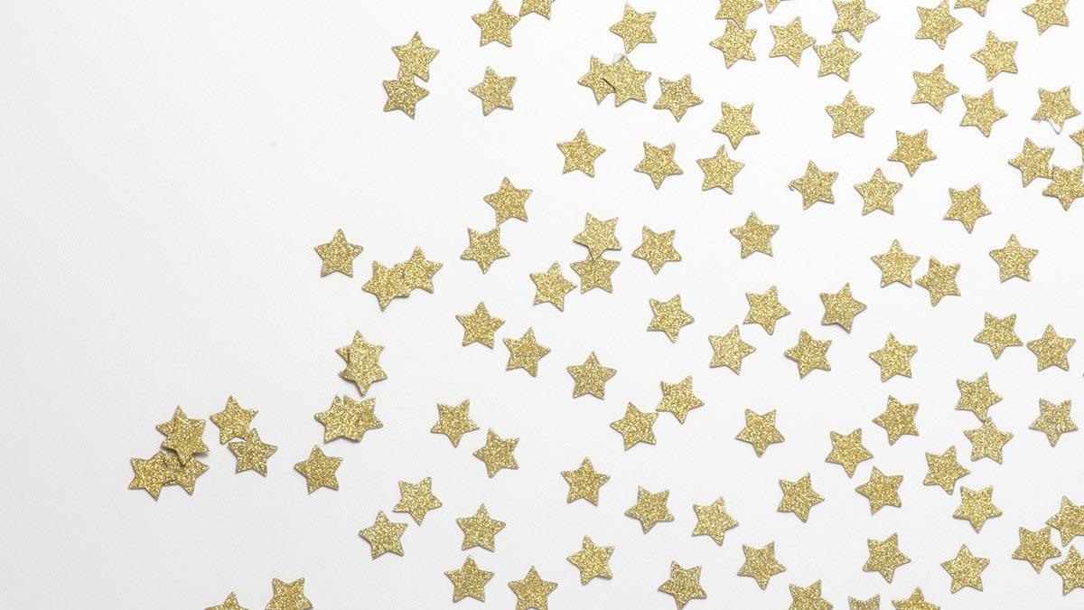 デコレーションアイテム コンフェッティ/Star/Gold[ジンジャーレイ] 1
