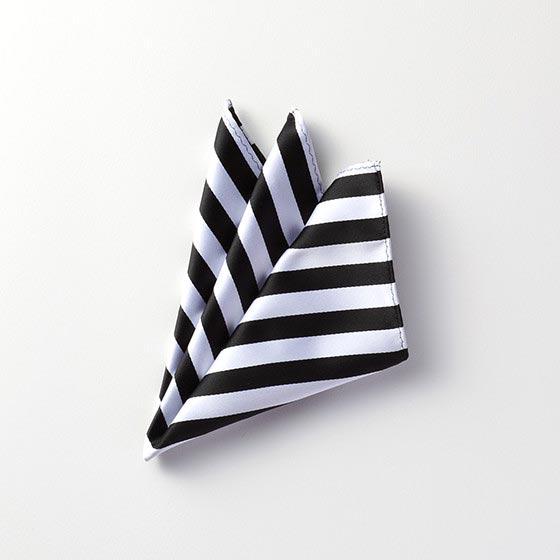 デコレーションアイテム ポケットチーフ/ブラック[イズリール] 38