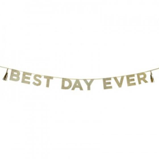 デコレーションアイテム ガーランド/Best Day Ever[トーキングテーブル] 11