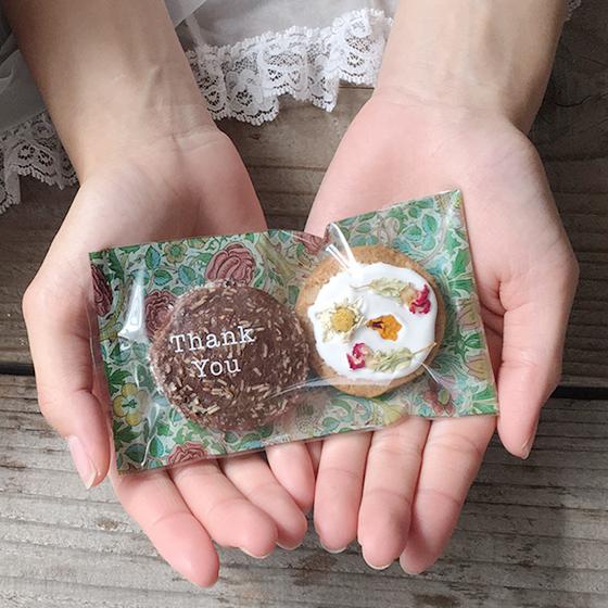 お花のクッキー 8個&スワッグ/ピンク セット[タニクハンモック] 5
