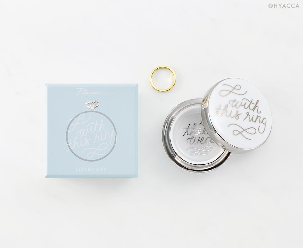 リングケース/Just Married WITH THIS RING BOX[ロザンナ] 1