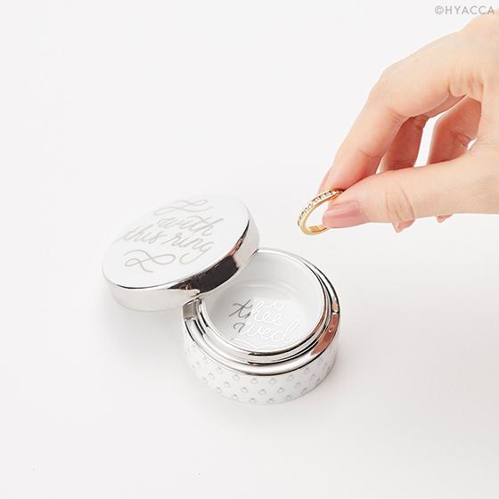 リングケース/Just Married WITH THIS RING BOX[ロザンナ] 3