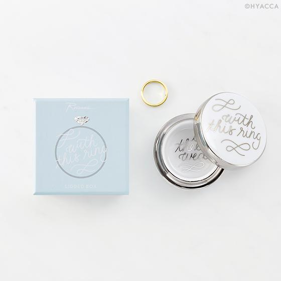 デコレーションアイテム リングケース/Just Married WITH THIS RING BOX[ロザンナ] 34