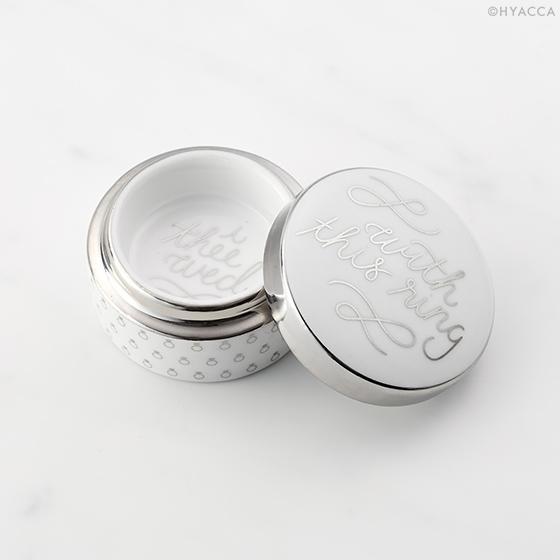 リングケース/Just Married WITH THIS RING BOX[ロザンナ] 2