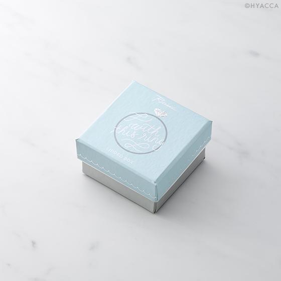 リングケース/Just Married WITH THIS RING BOX[ロザンナ] 4