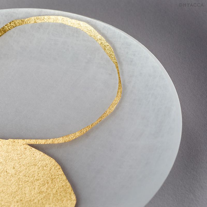 箔 豆皿/い/4枚セット[トウメイ] 4