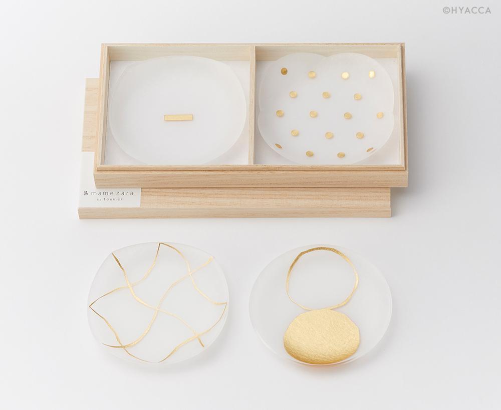 箔 豆皿/い/4枚セット[トウメイ] 1
