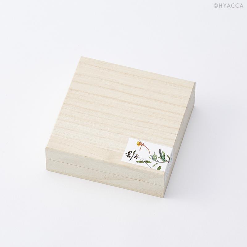 押花 コースター/D/4枚セット[トウメイ] 8