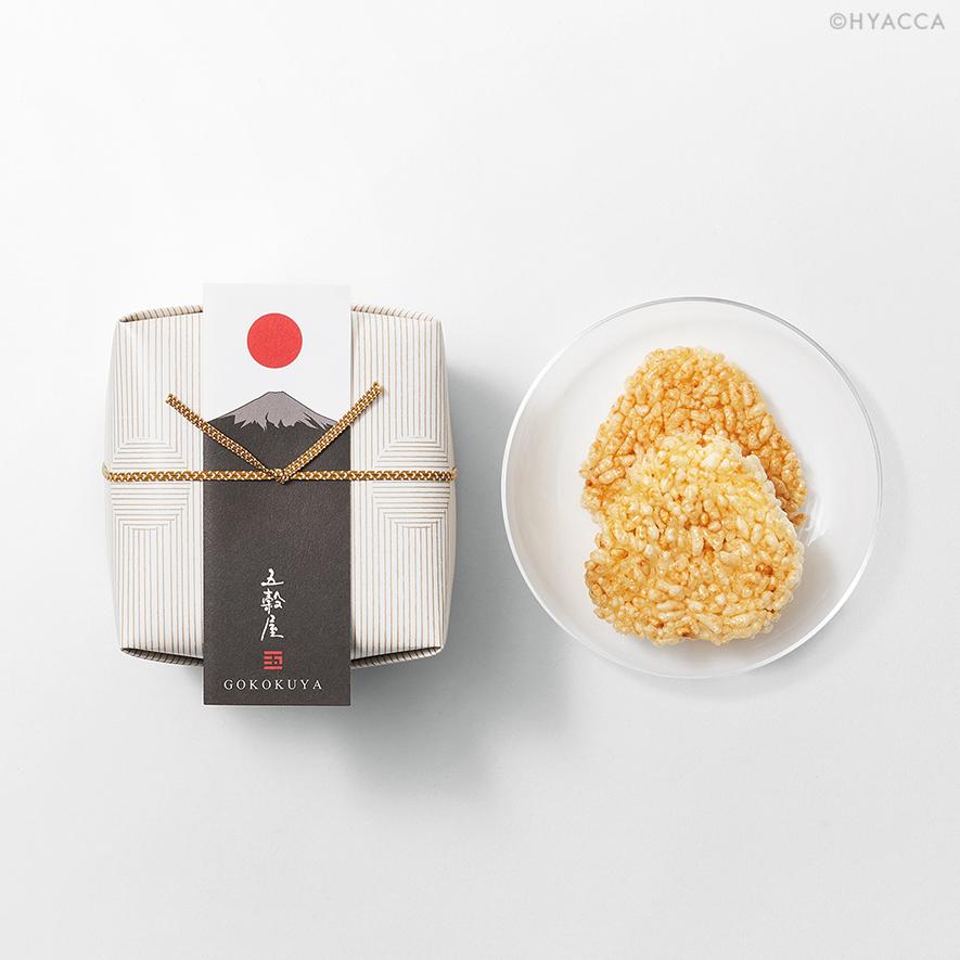 五穀せんべい/山むすび/富士山 5枚入/2種類[五穀屋] 3