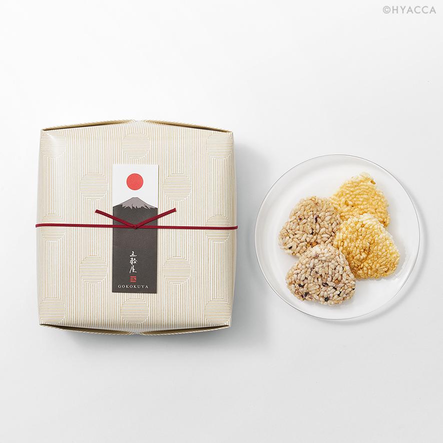 五穀せんべい/山むすび/富士山2種 20枚入[五穀屋] 16