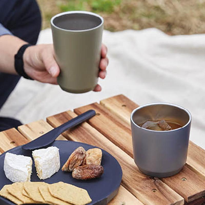 トゥーゴータンブラー/カーキ[キントー]+焼き菓子+コーヒー 7