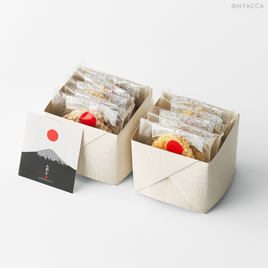 五穀せんべい/山むすび/富士山 5枚入/2種類[五穀屋] 9
