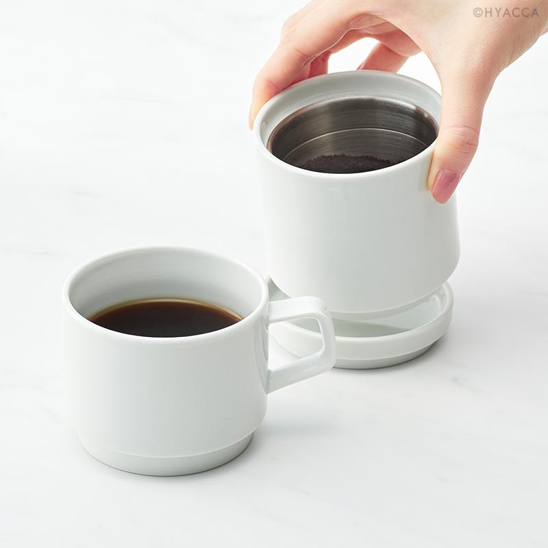 引き出物 メイン単品 FARO/コーヒードリッパー&マグ[キントー] 32