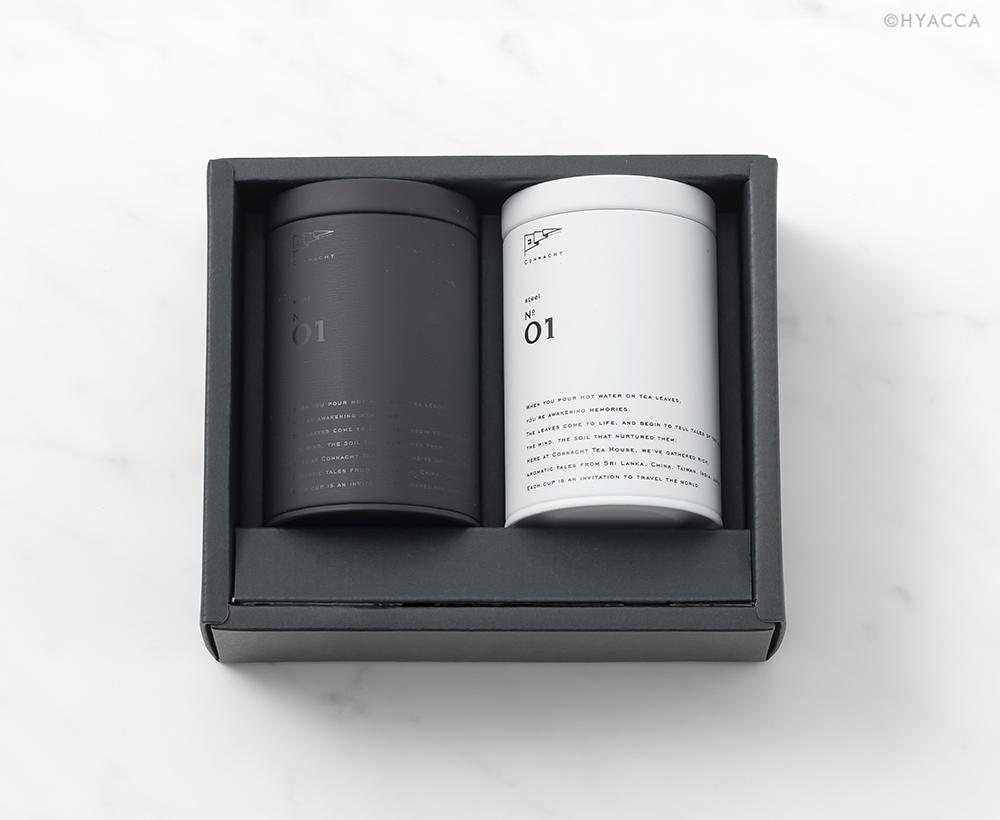 選べるティーギフト 2缶セット/2種類[コノハト茶葉店] 1