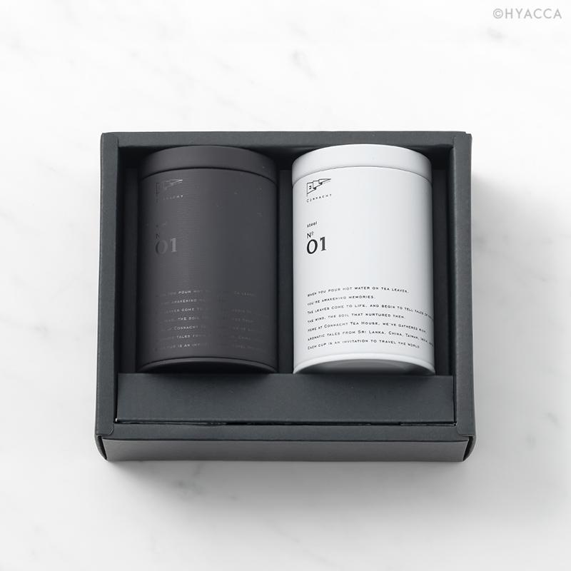 新築祝い・引っ越し祝い 選べるティーギフト 2缶セット/2種類[コノハト茶葉店] 12