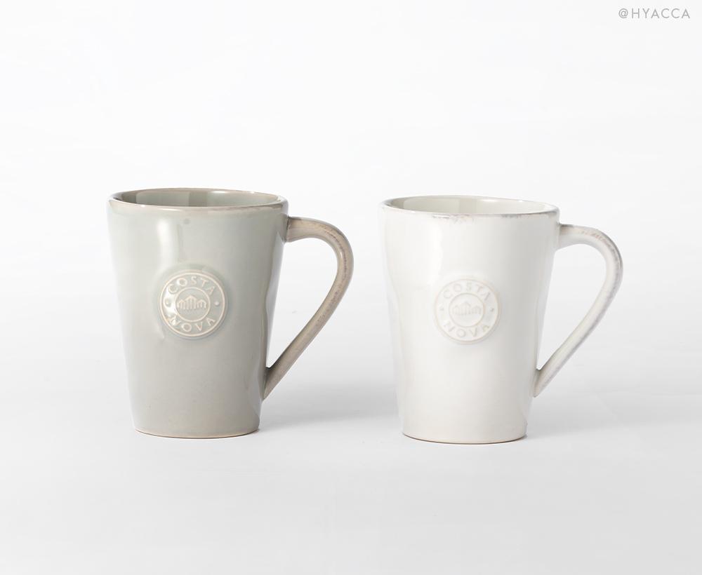 マグカップ 2個セット/ナチュラルカラー[コスタノバ] 1