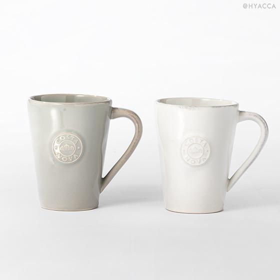 マグカップ 2個セット/ナチュラルカラー[コスタノバ] 18
