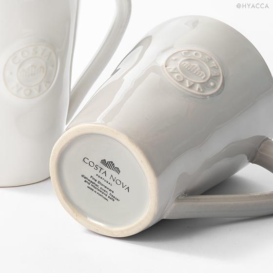 マグカップ 2個セット/ナチュラルカラー[コスタノバ] 5