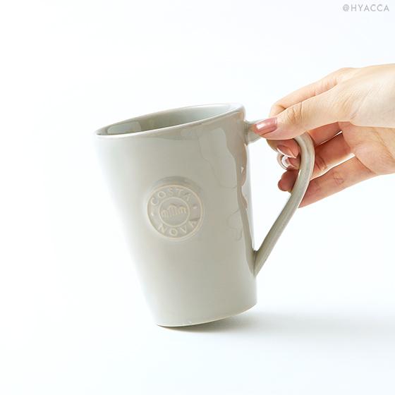 マグカップ 2個セット/ナチュラルカラー[コスタノバ] 6
