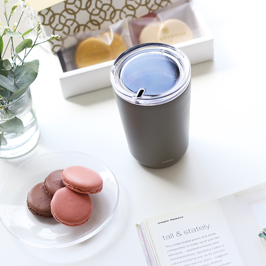 トゥーゴータンブラー/カーキ[キントー]+焼き菓子+コーヒー 6