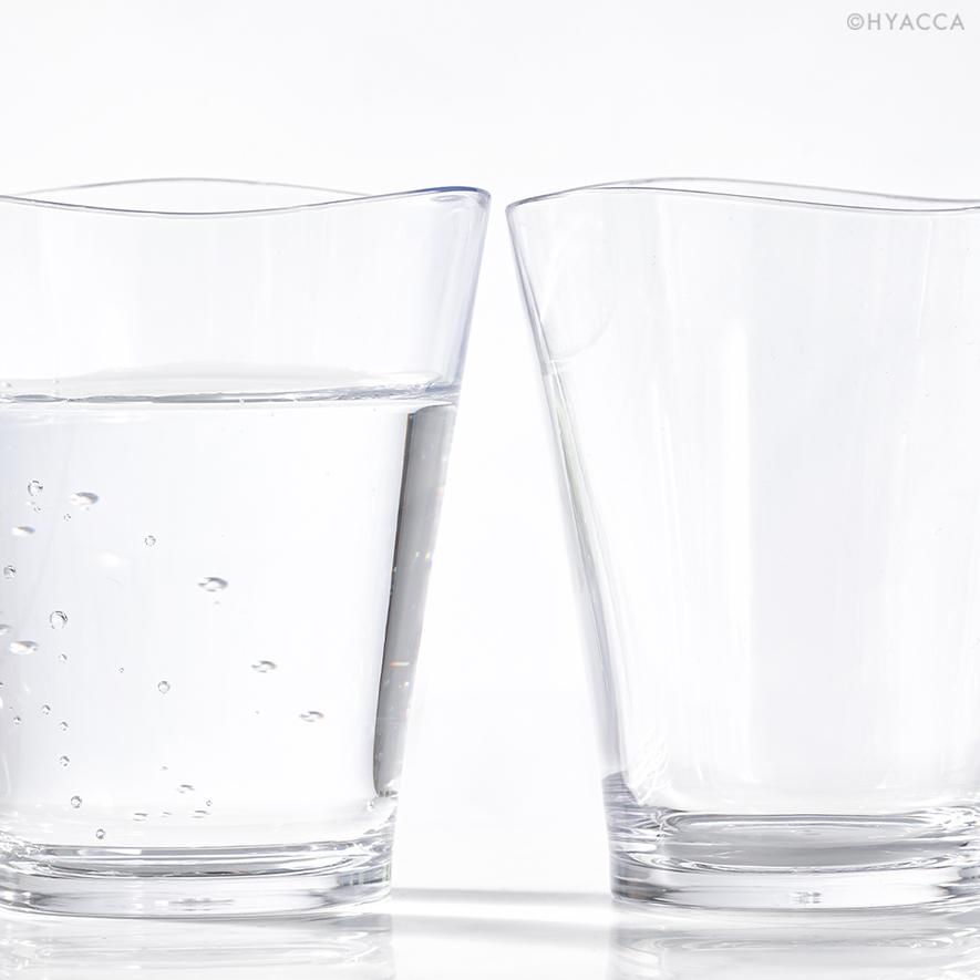 ゆらぎタンブラー/クリア S 5個セット[プラキラ] 4
