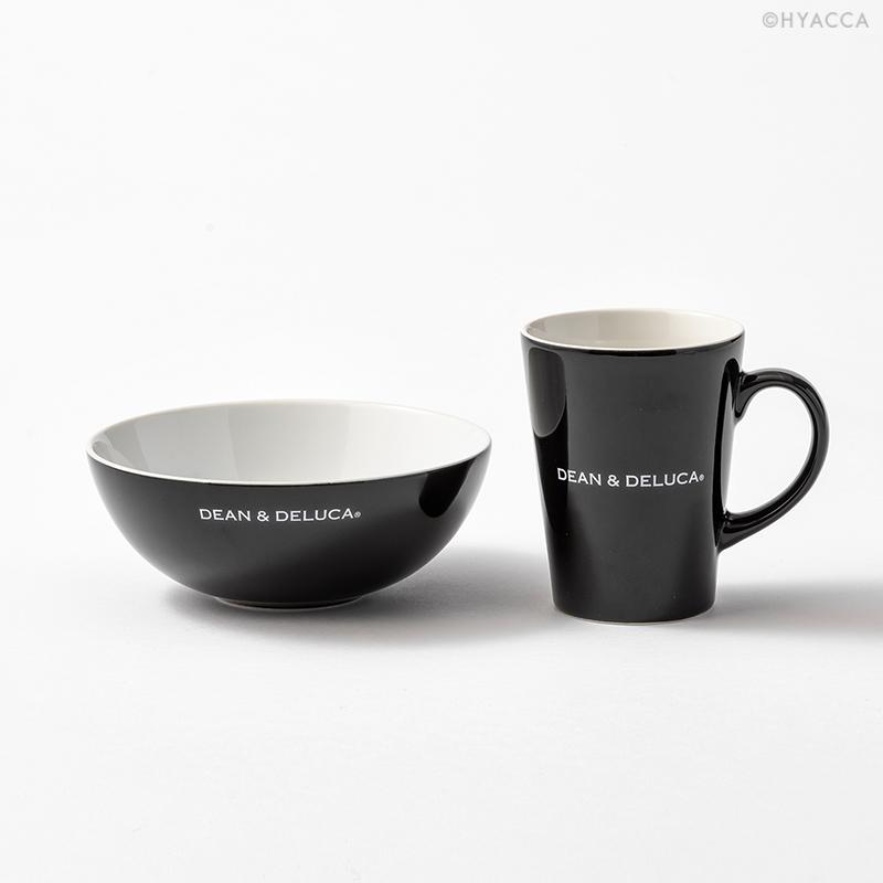 引き出物 シリアルボウル&ラテマグSセット/ブラック[ディーン&デルーカ] 2