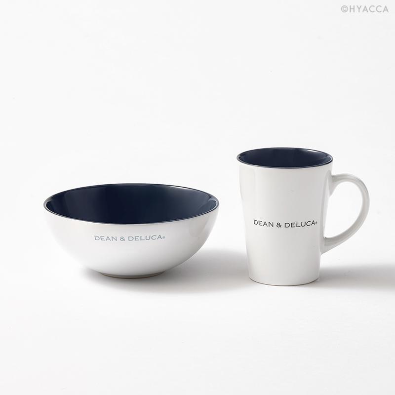 引き出物 シリアルボウル&ラテマグSセット/ホワイト[ディーン&デルーカ] 1