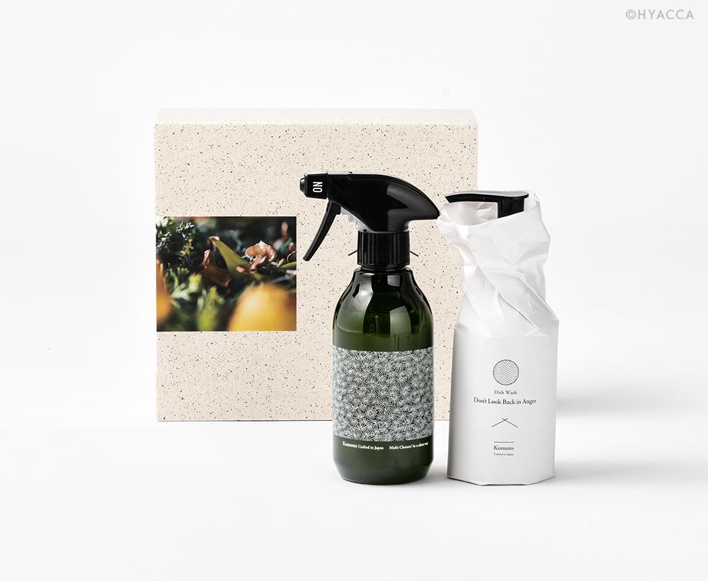 キッチンコンビ/食器用洗剤&マルチクリーナー[コモンズ] 1