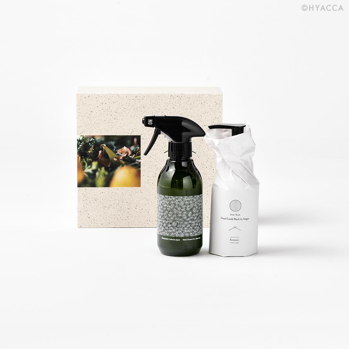ベーシックカルテット/食器用洗剤&マルチクリーナー&ハンドソープ&ファブリックミスト[コモンズ] 2