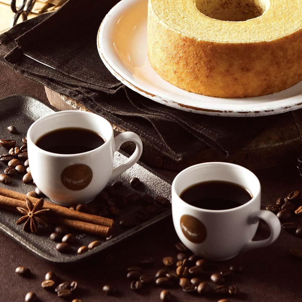 カタログギフト/ヴァンウエスト/イヴォワール+バームクーヘン+コーヒー 10