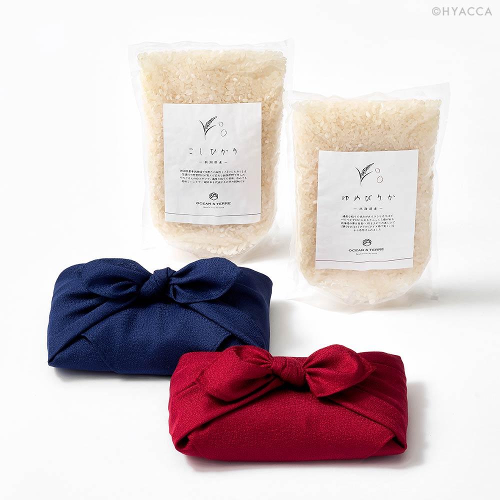 カタログギフト/メイドインジャパン+日本のおいしい食べ物2冊セット 全3種類+お米+梅干し 26