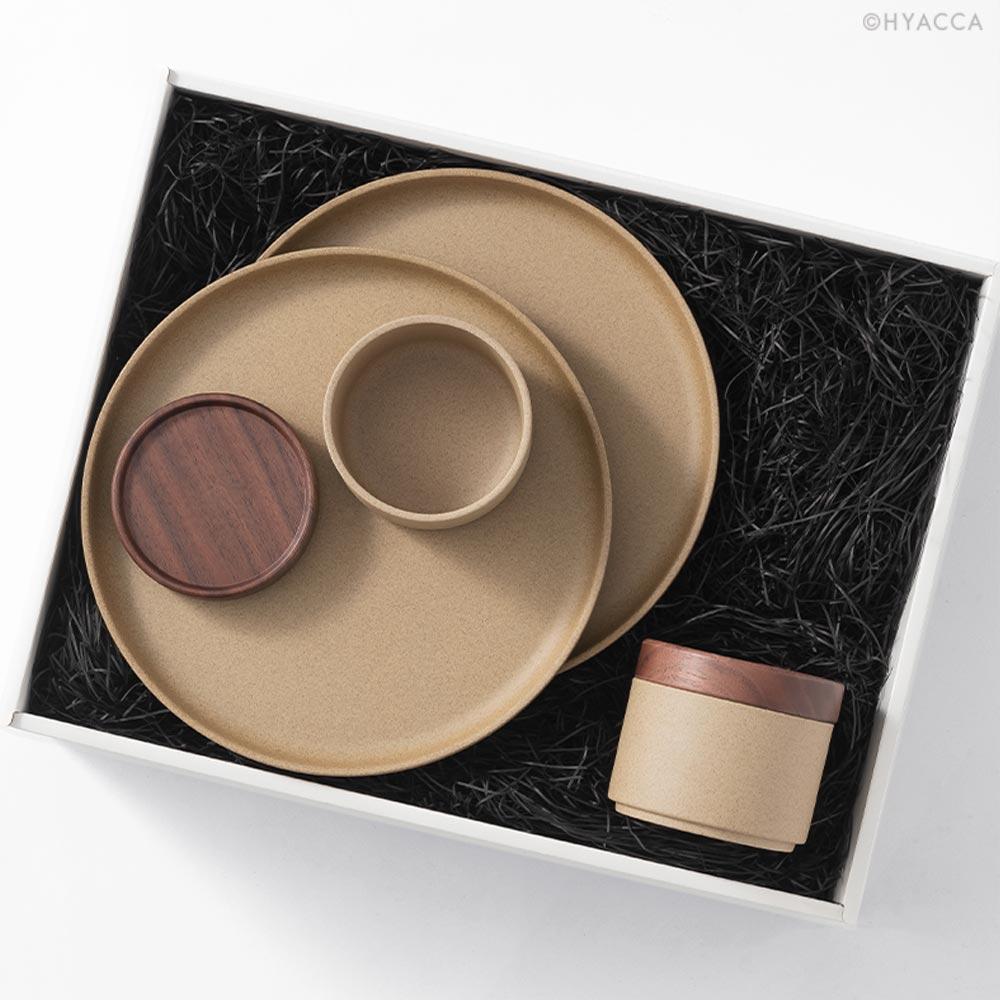 結婚内祝い HASAMI PLATE BOX/ナチュラル[ハサミポーセリン] 17