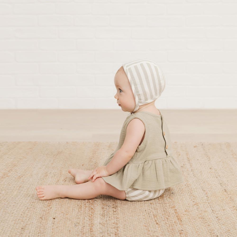 出産祝い QUINCY MAE COORDINATE BOX / グリーン(商品一覧画像 赤ちゃんver) 9